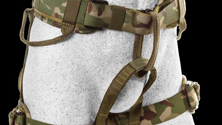 Hawk Sit Harness - Camouflage